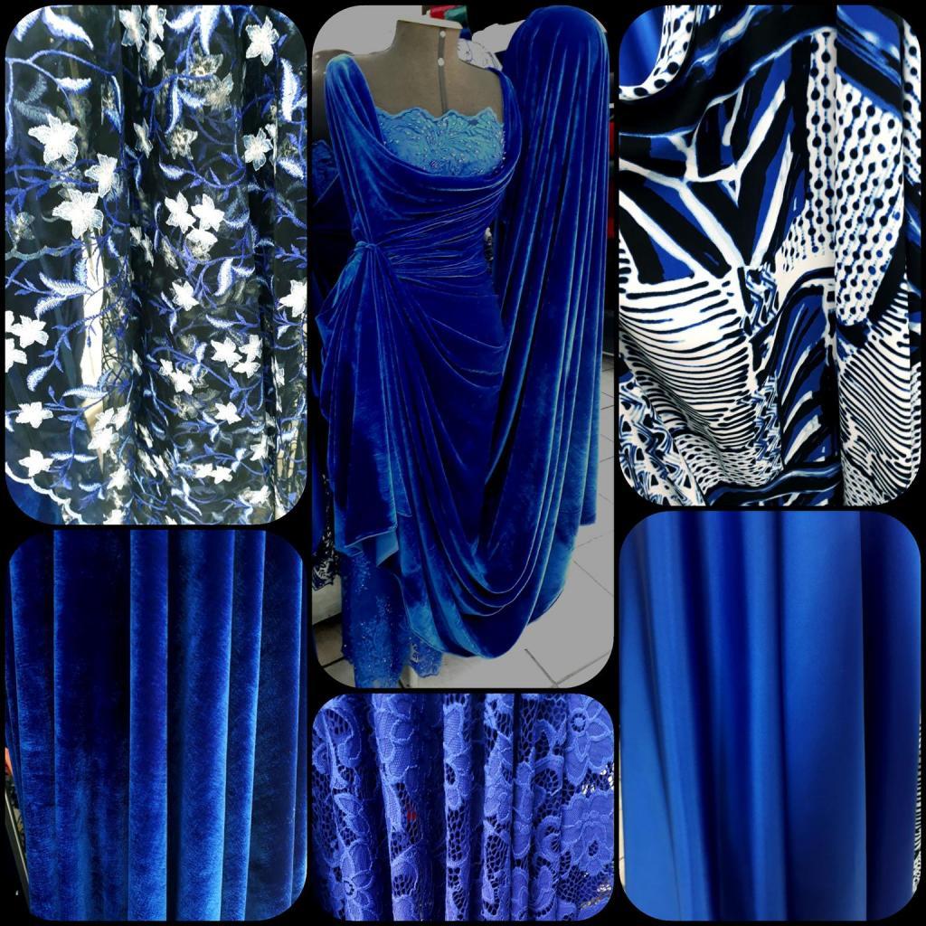 VARIEDADE TONS AZUL BIC - No grupo ModaBella Tecidos-RAVERA você encontra uma variedade enorme de artigos em vários tons de cores padrões e estampas - Moda Bella Tecidos e Lojas Ravera
