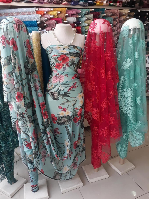 VARIEDADES VERDE AO CORAL!!! - Moda Bella Tecidos e Lojas Ravera
